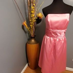 Vintage Lilly Pulitzer strapless cocktail dress